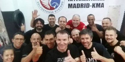 Madrid – 4 day Panantukan Seminar March '17