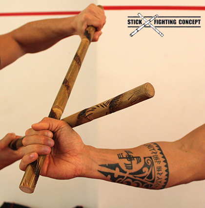 Stick Fighting Concept