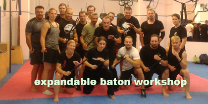 Vienna – Expandable Baton Workshop