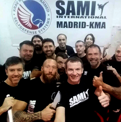 Knife Instructor Seminar Madrid
