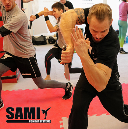 7-day knife seminar at SAMI HQ