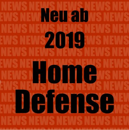 NEU – HOME DEFENSE KURS 2019