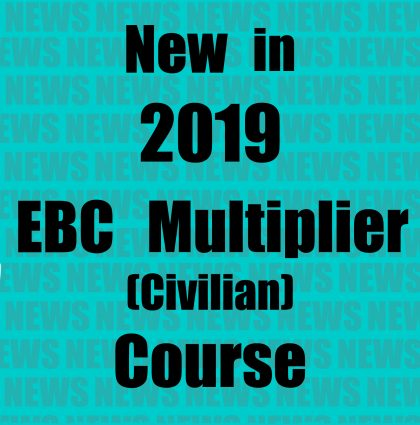 NEW IN 2019 – EBC MULTIPLIER (CIVILIAN) COURSE