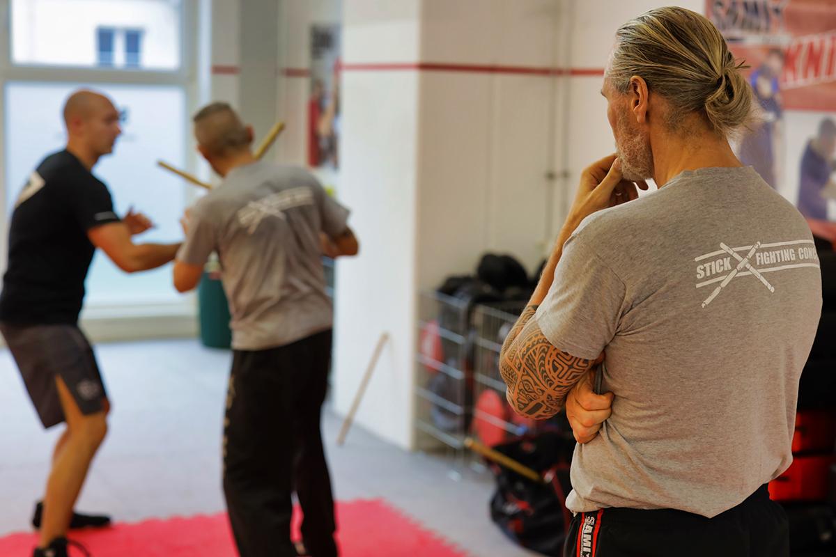 Stick Fighting Seminar HQ [Jan  19] - SAMICS News